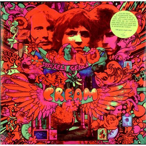 Tapa del disco de Cream: Disraeli Gears