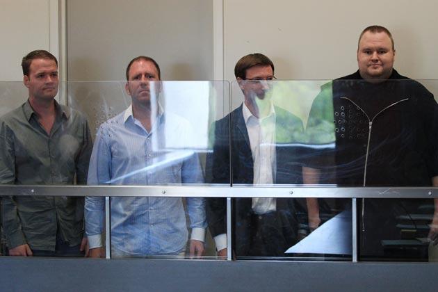 """Foto del arresto de Kim """"Dotcom"""""""