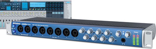 Interfaz de audio Presonus Audiobox