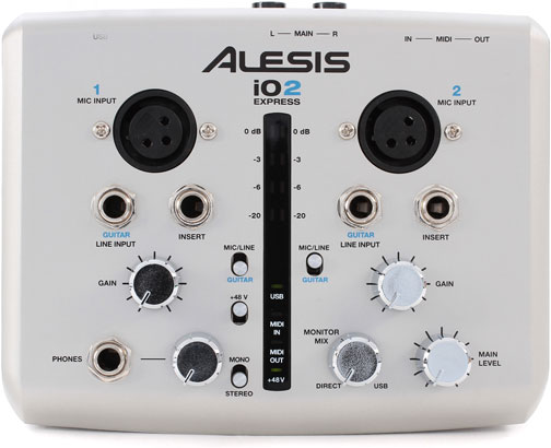 Interfaz de Audio: Alesis iOS2