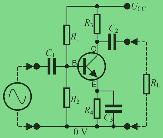 Amplificador de emisor común BJT