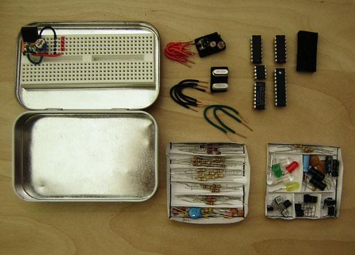 Por qué es recomendable tener un kit de componentes básicos