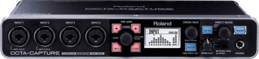 Interfaz de audio Roland Octacapture