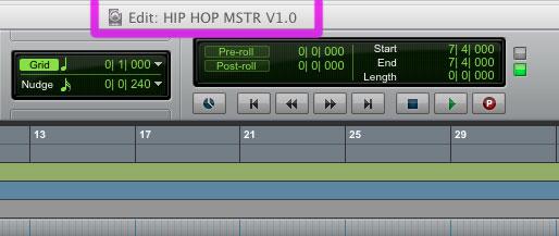 Sesión de mastering
