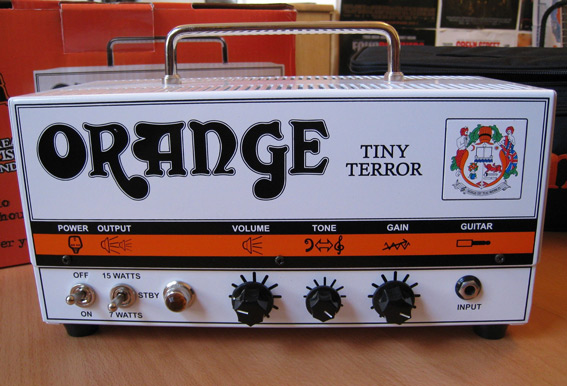 Diferencia entre ganancia y volumen: Orange Tiny Terror