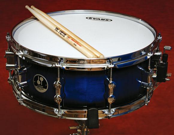 Aumentar la pegada del tambor usando la compresión
