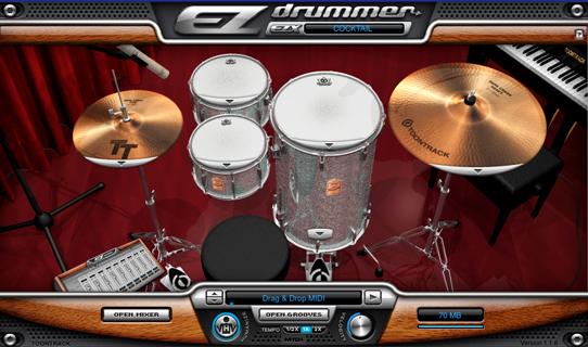Set de batería de ez drummer
