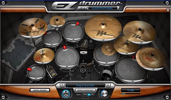 Set de batería EZ Drummer