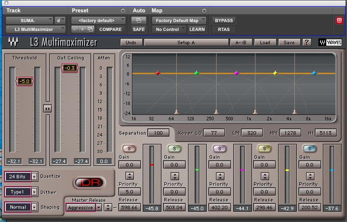 Limitador de audio Multimaximizer