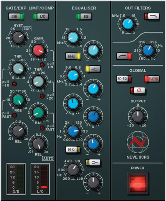 Universal audio Neve 88s