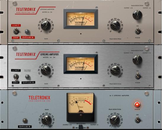 LA-2A de Universal audio