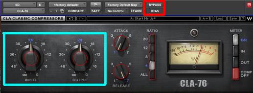 CLA-76 input output
