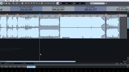 Quemar disco en Samplitude Music Studio