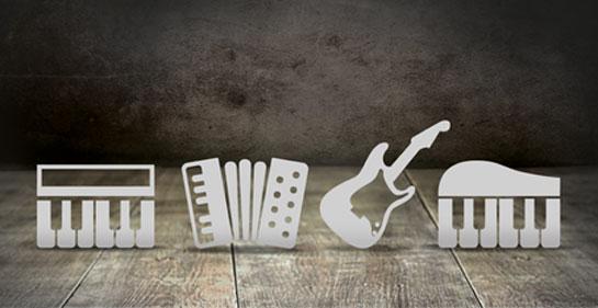 Plantillas de grabación Samplitude Music Studio