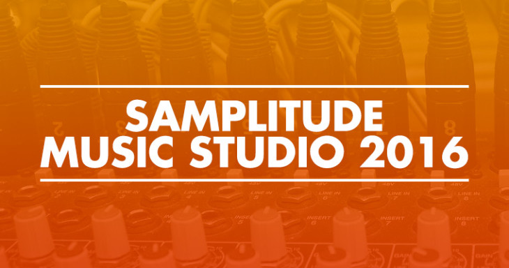 Reseña de software: Samplitude Music Studio 2016